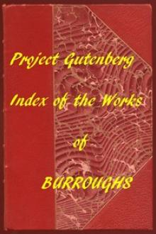 Index of the Project Gutenberg Works of Edgar Rice Burroughs by Edgar Rice Burroughs