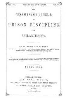 The Pennsylvania Journal of Prison Discipline and Philanthropy by Unknown