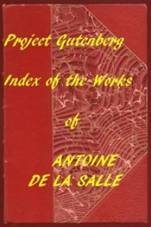 Index of the Project Gutenberg Works of Antoine de La Salle by Antoine de la Salle