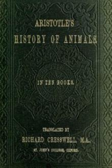 Aristotle's History of Animals by Aristotle