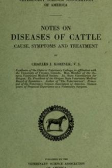 Notes on Diseases of Cattle by Charles James Korinek