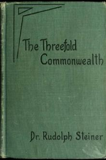 The Threefold Commonwealth by Rudolph Steiner