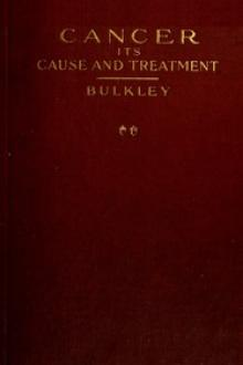 Cancer—Its Cause and Treatment, Volume II by L. Duncan Bulkley