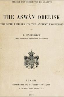 The Aswân Obelisk by Reginald