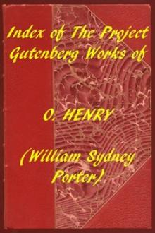 Index of the Project Gutenberg Works of O by O. Henry