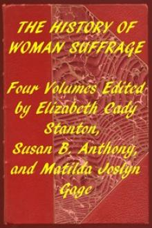 Index of the Project Gutenberg Works on Women's Suffrage by Various