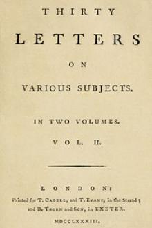 Thirty Letters on Various Subjects, Vol. II by William B. Jackson