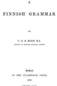 A Finnish Grammar by C. N. E. Eliot