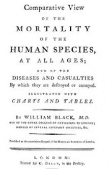 A Comparative View of the Mortality of the Human Species by William Black