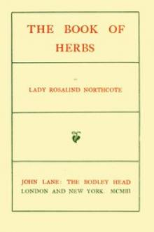 The Book of Herbs by Rosalind Northcote
