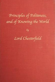 Principles of politeness by Earl of Chesterfield
