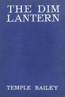 The Dim Lantern by Temple Bailey