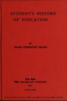 A student's history of education by Frank Pierrepont Graves