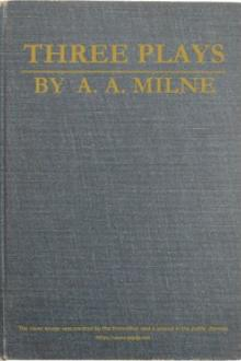 Three Plays by A. A. Milne