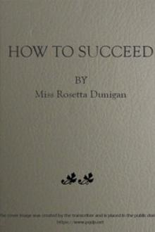 How to Succeed by Rosetta Dunigan
