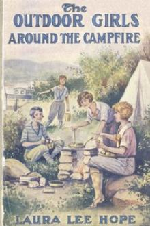 The Outdoor Girls Around the Campfire by Laura Lee Hope