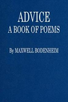 Advice by Maxwell Bodenheim
