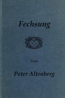 Fechsung by Peter Altenberg