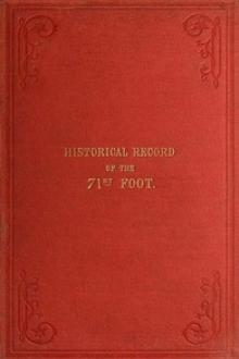 Historical record of the 71st Regiment Highland Light Infantry by Richard Cannon