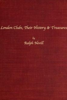 London Clubs by Ralph Nevill