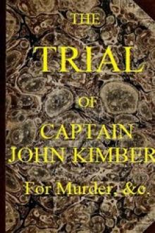 The Trial of Captain John Kimber, for the Murder of Two Female Negro Slaves, on Board the Recovery, African Slave Ship: by Student of the Temple