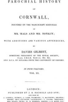 The Parochial History of Cornwall, Volume 3 by Unknown
