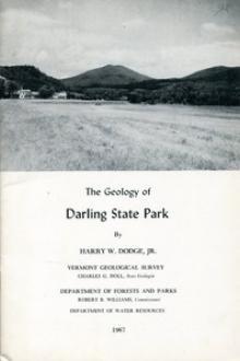 The Geology of Darling State Park by Harry W. Dodge, Jr.