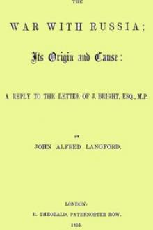 The War with Russia by John Alfred Langford