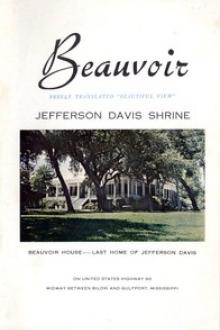 Beauvoir by United Daughters of the Confederacy. Mississippi Division
