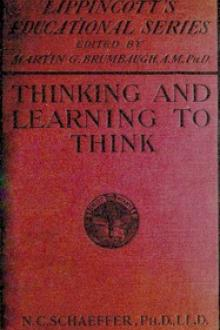 Thinking and learning to think by Nathan C. Schaeffer