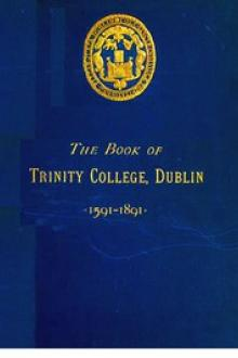 The Book of Trinity College Dublin 1591-1891 by Randolph County, N. C.