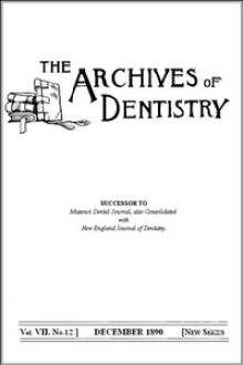 The Archives of Dentistry, Vol by Various