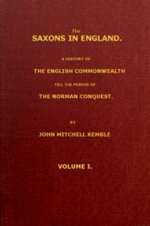 The Saxons in England, Volume 1 (of 2) by John Mitchell Kemble