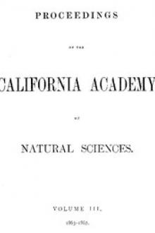 Proceedings of the California Academy of Sciences by Various