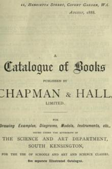 A Catalogue of Books Published by Chapman & Hall by Anonymous