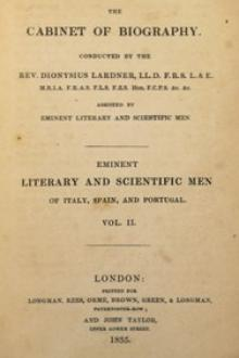 Eminent literary and scientific men of Italy, Spain, and Portugal Vol. 2 by Mary Wollstonecraft Shelley, James Montgomery