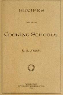 Recipes Used in the Cooking Schools, U by U. S. Army