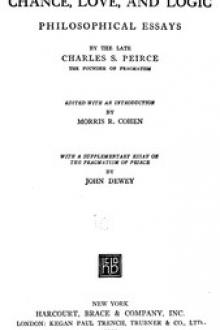 Chance, Love, and Logic by Charles S. Peirce