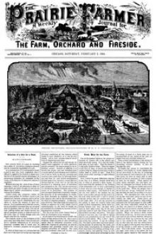 Prairie Farmer, Vol. 56: No. 5, February 2, 1884. by Various