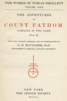 The Adventures of Ferdinand Count Fathom — Volume 02 by Tobias Smollett