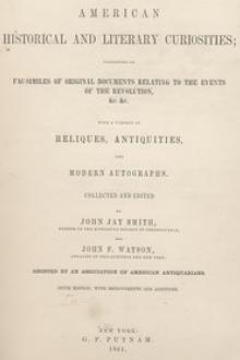 American Historical and Literary Curiosities