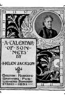 A Calendar of Sonnets by Helen Hunt Jackson