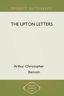 The Upton Letters by Arthur Christopher Benson