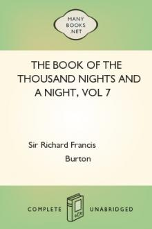 The Book of the Thousand Nights and a Night, vol 7 by Sir Richard Francis Burton