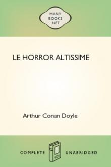 Le Horror Altissime by Arthur Conan Doyle