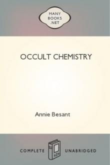 Occult Chemistry by C. W. Leadbeater, Annie Besant