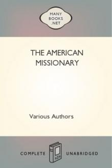The American Missionary by Various