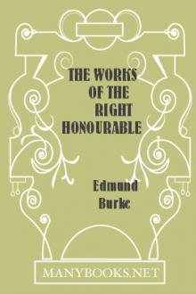The Works of the Right Honourable Edmund Burke, Vol. VII
