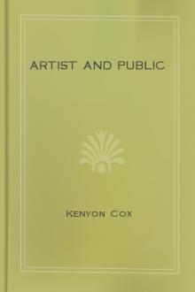Artist and Public by Kenyon Cox