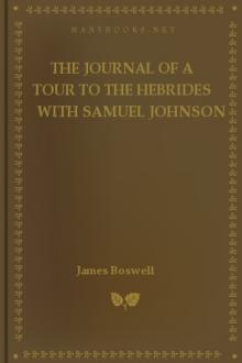 The Journal of a Tour to the Hebrides with Samuel Johnson by James Boswell